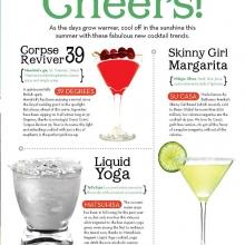 Cocktails for Aspen Magazine Summer Menu Guide